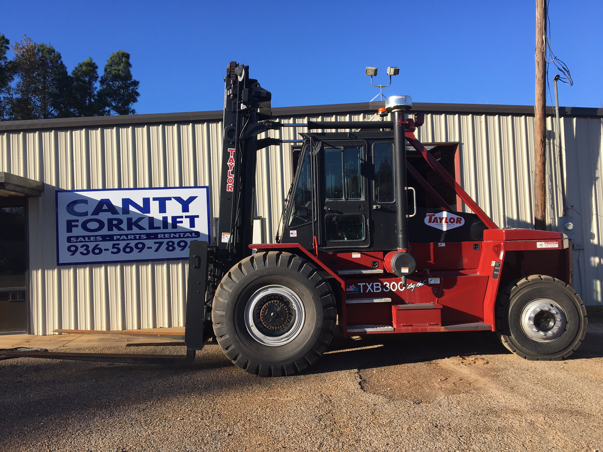 Home | CANTY FORKLIFT, INC. - Serving the Material Handling industry ...